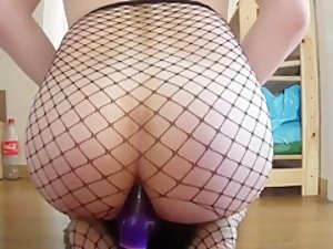 Cumming While Riding My New Toy
