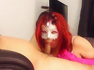 Horny Homemade Shemale record with Blowjob, Lingerie scenes